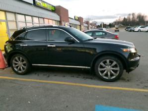 fully loaded 2008 Infiniti fx 45 with 160.000 km