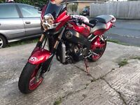 Kawasaki Ninja ZX6R in Candy Red, Long MOT, Hpi clear, warranted miles, px welcome