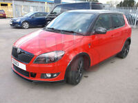 2013 Skoda Fabia Monte Carlo TSi 1.2 DAMAGED REPAIRABLE SALVAGE