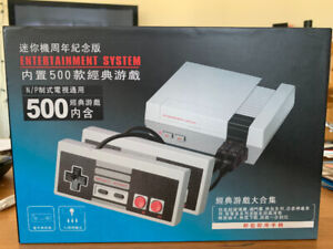 500 classic Game Console (used Once)