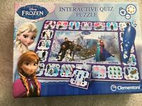 Frozen interactive quiz puzzle