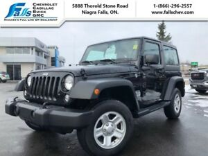 2015 Jeep Wrangler SPORT  NO ACCIDENTS,LOCAL TRADE,AUTOMATIC