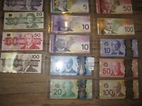 Ultimate Canadian Paper Money Collection 1937-2013