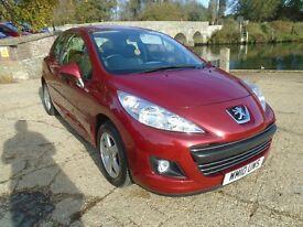 Peugeot 207 1.4 8V MILLESIM (red) 2010