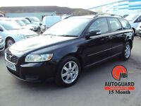 2008 VOLVO V50 1.8 S BLACK PETROL CAR