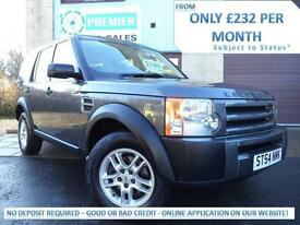 LAND ROVER DISCOVERY 3 2.7 TD V6 MANUAL, 7 SEATER, ONLY 92,000 MILES, LOW TAX!