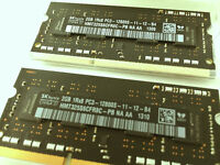 4GB RAM Memory - PC3-12800 DDR3 204-pin - Excellent condition
