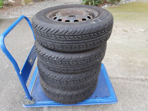 4 All Season Tires 185/70R14 - Mounted & Balanced - $400