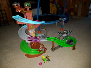 Tmnt race to the sewer and revenge track set