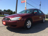 2007 Ford Taurus SEL V6 // LOW KMS! SUNROOF... FOR ONLY $4 995!