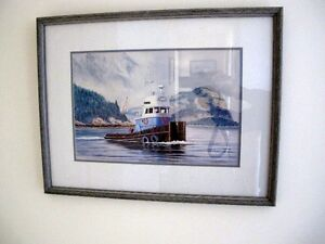 Squamish Rogue Framed Limited Edition Print by W. McMurray