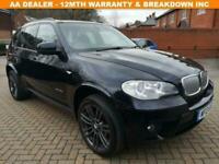 2013 13 BMW X5 3.0 XDRIVE40D M SPORT 5D 302 BHP DIESEL