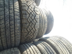 """Just in!! Used 18 & 19"""" tires for sale - available sizes listed"""