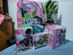 Kamen Rider Ex Aid Build DX Toys and Drivers