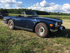 1974 Triumph TR6 Fully Restored w Overdrive and Hardtop .