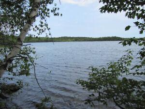 Lake Access at Sherbrooke Lake