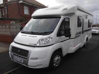2010, BESSACARR E560, 4 BERTH, LOW PROWFILE, FIXED BED, EXCELLENT CONDITION