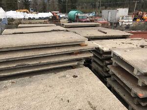 Large Concrete Dock Panels