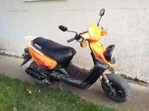 2005 yamaha bws sport moped for sale