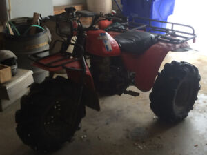 Honda atc 250 and 200 trx 300 and 350 foreman PARTS