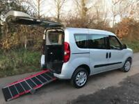 2012 Fiat Doblo 1.4 16V MyLife 5dr WHEELCHAIR ACCESSIBLE VEHICLE 5 door Wheel...