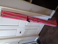 Pink/beige Stripe Upholstery Fabric 5m