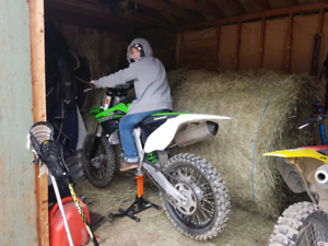 2015 KX450F- VERY LOW HOURS- Mint Condition