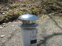 New 7in stainless Chimney Cap