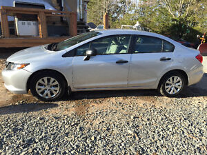 2012 HONDA CIVIC 5SPD BODYMAN SPECIAL RUNS&DRIVES 902-293-6969