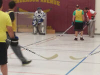 Ball/Floor Hockey Goalie wanted for Full Time (Tuesday Nights)