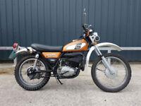 1974 Yamaha DT250 Enduro DT 250 Import UK Registered Classic Motorcycle