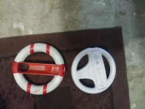 Wii Steering Wheels 1 w Controller 1 w/out $25 for all