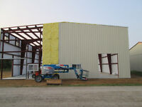 Steel Building Sales and Erecting Services in Timmins