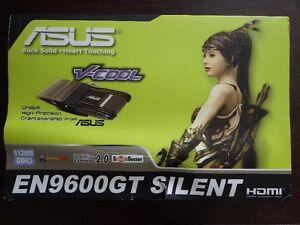 GPU : ASUS NVIDIA GeForce 9600GT SILENT HDMI