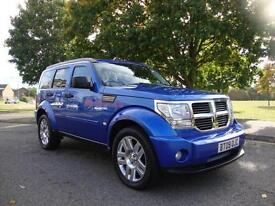 Dodge Nitro 2.8CRD Auto SXT +NAV+Leather, 2009, 39k FSH