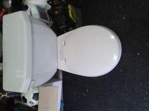 American Standard Toilet Grey
