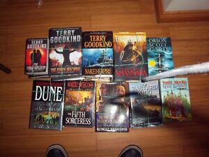 Books --Fantasy Science Fiction Collection & Mystery and Suspens