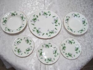 English Bone China plates $5 each OBO for all Paragon