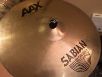 """Sabian AAX 20"""" Stage Ride with stand"""
