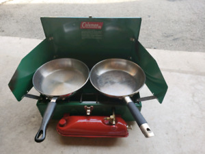 Coleman stove - old school