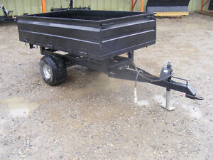 Dump Trailer (Hydraulic) - for tractor with rear hitch