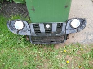 yamaha grizzly 660,  grill with lights