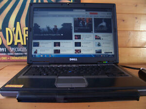 Dell D620, dual core, 3 Go RAM, 80Gb, Windows 7