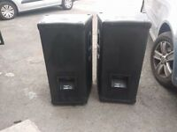 Mackie S500 speakers , completely been serviced and are now in great condition