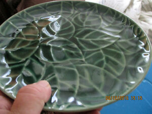 Jade Leaves Pier 1 Imports  8 Pcs. Setting  **Reduced AGAIN** London Ontario image 5