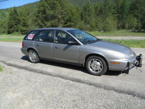 1997 Saturn SW2 Wagon Tow behind motorhome LOW KMS