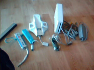 wii complet  + 17 jeux