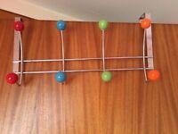 Over door coat hanger