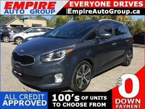 2014 KIA RONDO EX GDI * 1 OWNER * LEATHER * NAV * REAR CAM * PAN