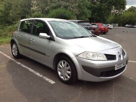 Renault Megane 1.6L Dynamique VVTi FSH, MOT, £1500